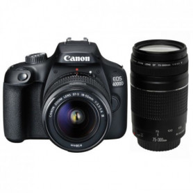 CANON EOS 4000D 18 Mpx + Objectif EF-S 18-55mm