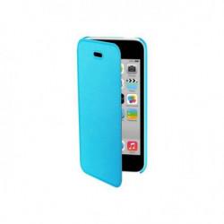 MUVIT Easy Folio Etui - Bleue - Dos Translucide - Pour Apple