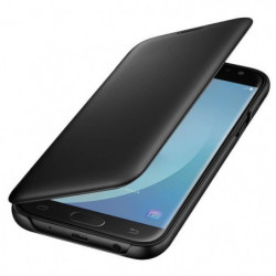 Samsung Etui Flip Wallet J7 2017 - Noir