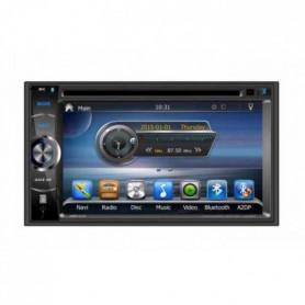 TAKARA GPV1826BT Autoradio 2DIN DVD GPS USB Bluetooth