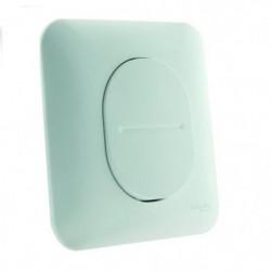 SCHNEIDER ELECTRIC Interrupteur poussoir simple 10 A Ovalis