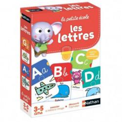 NATHAN La Petite Ecole - Les Lettres