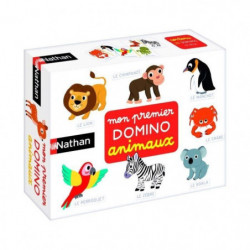 NATHAN - Mon Premier Domino Animaux