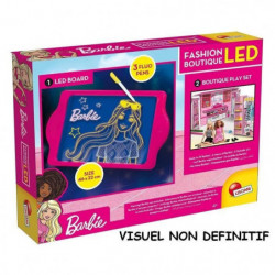 BARBIE Coffret Fashion, boutique avec tableau led