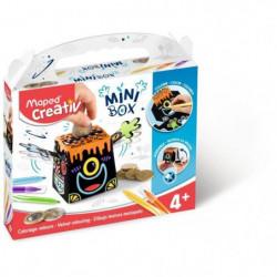 MAPED CREATIV - Mini Box - Coloriage Velours à construire