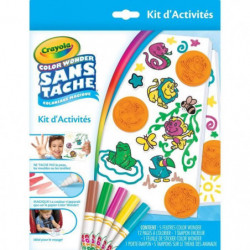 CRAYOLA - Kit d'Activités Color Wonder