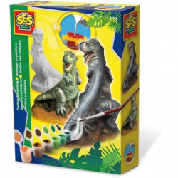 SES CREATIVE Moulage en plâtre T-Rex