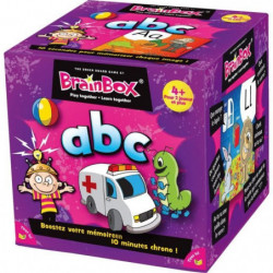 ASMODEE - BrainBox ABC - Jeu de société