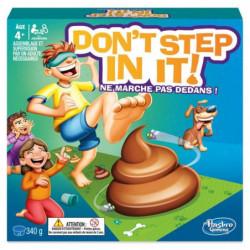 HASBRO GAMING - Don't Step in it ! Ne marche pas dedans - Je