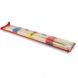 L'ARBRE A JOUER Grand mikado en bois 50 cm - Pochette plasti