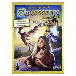 ASMODEE - Carcassonne - Extension 3 Princesse & Dragon - Jeu