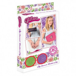 GLITZA ART Tatouage Sweet Butterfly - 50 Designs