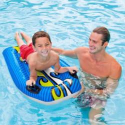 INTEX Planche de surf Bodyboard Gonflable enfant (couleur al