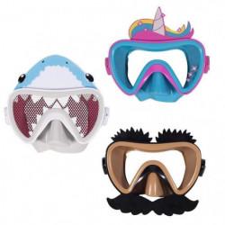SWIMWAYS Masque de natation Funny Face - Drôle De Tete - Mod