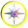 AEROBIE Disque Frisbee Sky Ligther Lumineux Mixte Multicolor