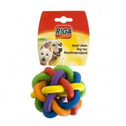 RIGA sphere caoutchouc GM CHIENS - couleur selon arrivage