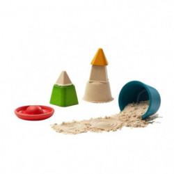 PLAN TOYS Mes formes à mouler pour le sable