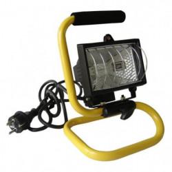 Projecteur de chantier portable 400W avec bras
