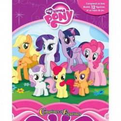 MY LITTLE PONY 12 figurines et un tapis de jeu - Livre carto