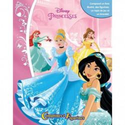 DISNEY PRINCESSES 12 figurines et un tapis de jeu - Livre ca