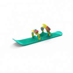 GIZMO RIDERS Luge ski OneFoot - Enfant - Neon vert