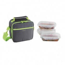 BE NOMAD Set Sacoche Lunch box - SEP122V - Vert