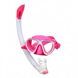 SEAC Masque et Tuba de plongée Bella - Enfant - Rose