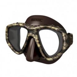 SEAC Masque de plongée One Kama - Silicone - Marron - Haute