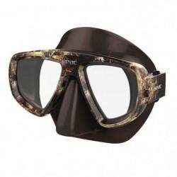 SEAC Masque de plongée Extreme Kama - Silicone - Marron - Mi