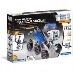CLEMENTONI Mon Atelier de Mécanique - Robot lunaire & Statio