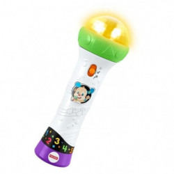 FISHER-PRICE - Le micro de Puppy -  Jeu d'Eveil Interactif