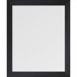 BASIC Miroir rectangulaire 40x50 cm Noir