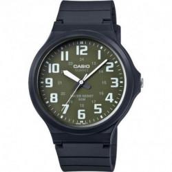 CASIO Montre Collection noire MW-240-3BVEF - Bracelet résine