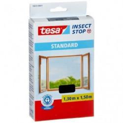 TESA Moustiquaire Standard pour fenetre - 1,3 m x 1,5 mm - N