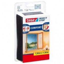 TESA Moustiquaire Comfort pour fenetres - 1,3 m x 1,5 m - No