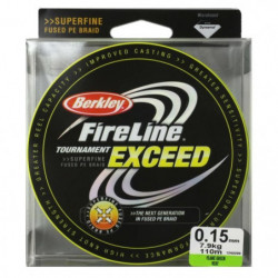 BERKLEY Tresse fireline tournament exceed 110m - vert - Ø 15