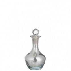 Carafe en verre 10x10x18 cm Effet miroir
