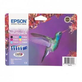 Epson T0807 Colibri Cartouches d'encre Multipack
