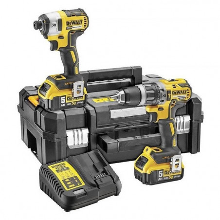 DEWALT Perceuse visseuse a percussion DCK266P2T - Visseuse a