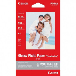 Canon Papier photo glacé GP-501 - 210g - 100 Feuilles - 10x1