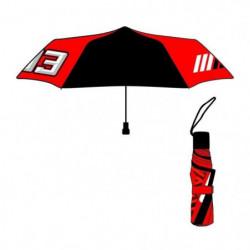 GP MOTORS Parapluie Pliable Marc Marquez MM93 - Noir et Roug