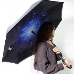 KINSTON Parapluie inversé Imprimé Bleu