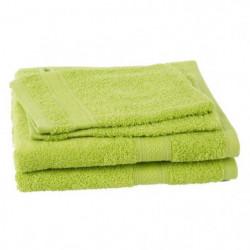 JULES CLARYSSE Lot de 2 serviettes + 2 gants de toilette Élé