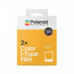 POLAROID ORIGINALS 4836 Film i-Type Couleur Double Pack Cadr