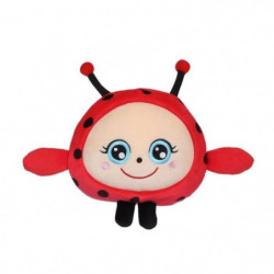 """GIPSY TOYS Squishimals 20 cm coccinelle rouge """"Dotty"""""""