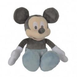 MICKEY Peluche Bleu 25 cm - Disney baby Tonal