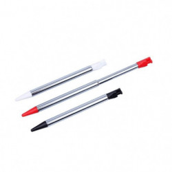Lot de 3 stylets en alu rétractables Under Control pour 2DS