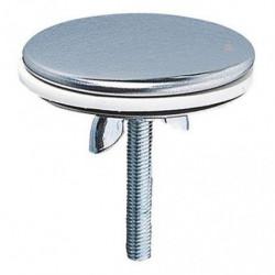 WIRQUIN Cache trou - Laiton chromé - Ø 43 mm