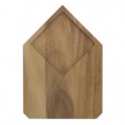 ECO DESIGN A1422AW Planche a découper bois d'Acacia Brut - C