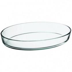 FINLANDEK Plat ovale en verre - 38x25 cm